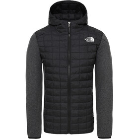The North Face ThermoBall Gordon Lyons Chaqueta con capucha Hombre, tnf black/graph grey/dk grey heather